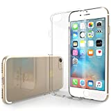 Yousave Accessories 0.5mm Slim Flexible TPU Crystal Clear Case for Apple iPhone 7