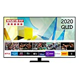 Samsung 2020 55' Q80T QLED 4K HDR 1500 Smart TV with Tizen OS CARBON SILVER