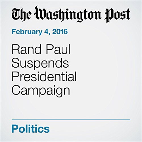 Rand Paul Suspends Presidential Campaign cover art