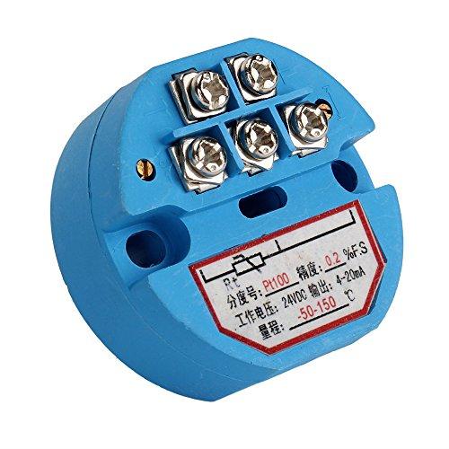 En plastique PT100 capteur de température Transmetteur -50–150 C 4–20 mA de sortie 24 vDC