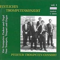 Four Trumpets,Timpani & Organ