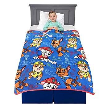 Franco Kids Bedding Super Soft Plush Throw Blanket 46  x 60  Paw Patrol
