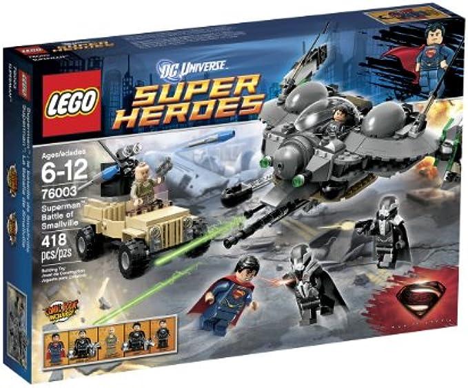 LEGO Superheroes 76003 סופרמן: הקרב על סמולוויל