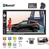 "Double Din Car Stereo 7"" Touchscreen Car Radio in Dash Car Stereo Bluetooth"