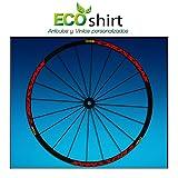 Ecoshirt Z2-XOKQ-02SK Pegatinas Stickers Llanta Rim Mavic Crossmax SL Pro Am50 MTB Downhill, Rojo 29'