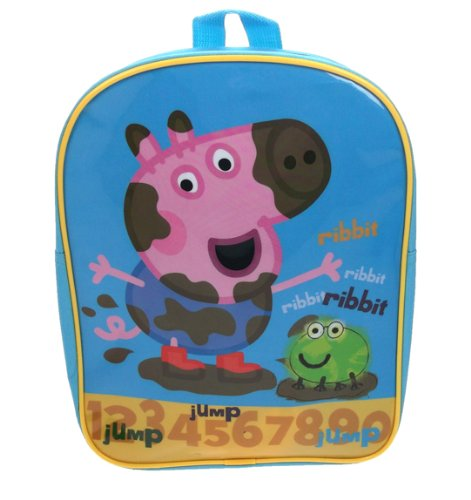 Peppa Pig - Mochila escolar George (Trade Mark Collections PEPPA001239)
