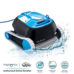 Sit back and relax while the Nautilus CC cleans the pool for you. Ideal for small pools up to 33 feet, this compact cleaner will have your pool ready for splashing fun in just 2 hours Efficiency is key when it comes to pool cleaning. Unlike suction a...