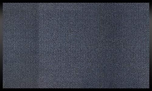 ID Mat 9015005 Cahors/Florac Tapis Paillasson Fibre Polypropylène/PVC Bleu 150 x 90 x 0,67 cm
