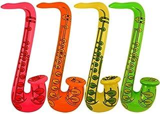 Partyrama - Saxofón hinchable (2 unidades, 75 cm)