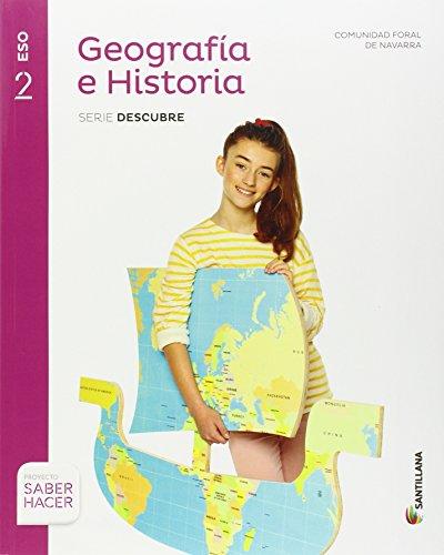 GEOGRAFIA E HISTORIA SERIE DESCUBRE 2 ESO SABER HACER - 9788414101698
