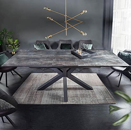 riess-ambiente.de Moderner Keramik Esstisch Eternity 180-225cm Lava ausziehbar Konferenztisch Tisch