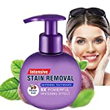 Intensive Stain Removal Whitening Toothpaste Baking Soda Fight Bleeding Gums Power Cleaning Fluoride-Free Natural Press Toothpaste