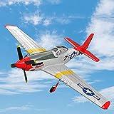 DBXMFZW 4 Canales Gyroscopio Control Remoto Avión Propulsor Fix-Wing RC Avión One-Key Despegue y...