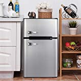 Best Dorm Fridges - Bossin 3.2 CU. FT Compact Refrigerator 2 Door Review