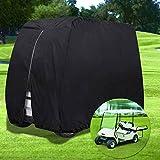 NXX Funda para Carrito De Golf,Resistente Al Agua,Funda para Coche De Club Tamaños para 4 Pasajeros Cubierta De Protección contra El Polvo para Carros De Golf EZ GO Club Car