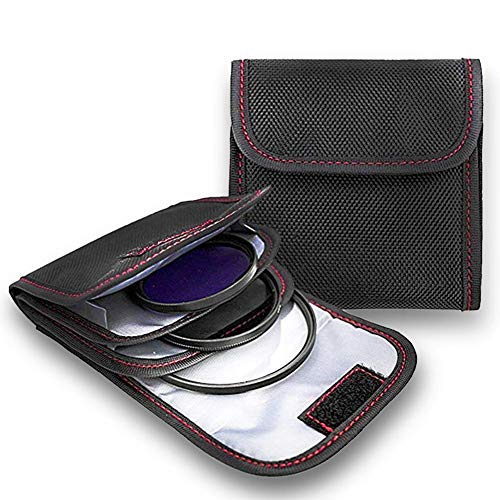 DomeStar Professional Photography Camera Lens Filter Carry Case