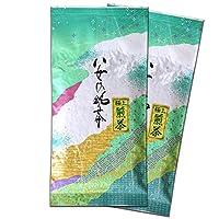 森のこかげ 極上 煎茶 (100g×2個セット) 八女茶 福岡県