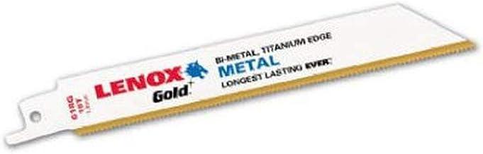 Nwl Germany Gmbh 21060-656G - Sierra alternativa l cuchilla, 128 lenox f.holz oro 6z. mm/pulgadas 5st./pack lenox