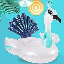 BRYTA-YOUC Anillo de natación Inflable de la Fila Flotante de los niños Agua al Aire Libre Que Monta el Anillo del Nadador del Cisne del Flamenco Que Monta