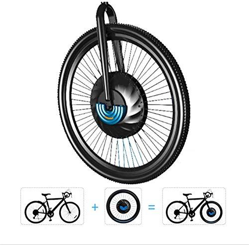 Bicicletas eléctricas Kit de conversión EBIKE kit de la conversión de la rueda delantera Kit de conversión de integrar el sistema de motor, la batería y de control en uno, for 24' 28' 700C 2020 26' 27