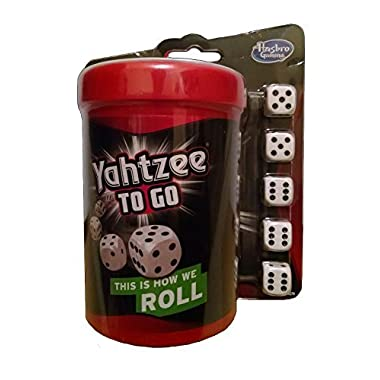 Yahtzee to Go Travel Game 2014 by Hasbro Gaming