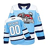 Customized H900 Series National Ice Hockey League Team Color Practice/Training Jersey for Junior to Senior - Adult and Youth Personalized