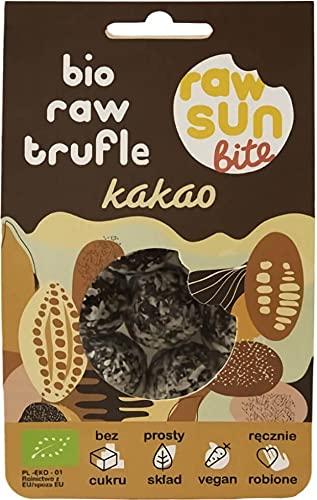 TARTUFI AL CACAO BIO 105 g - RAW SUN BITE