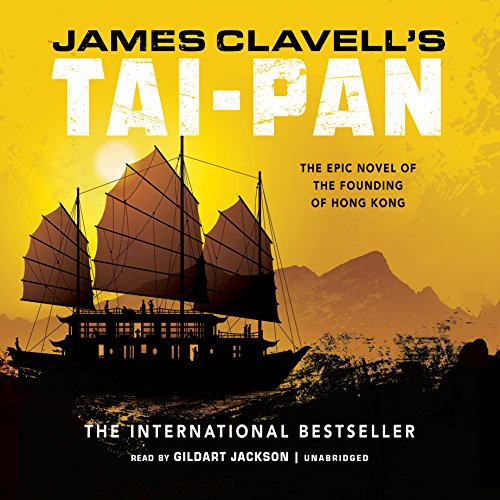Tai-Pan audiobook cover art