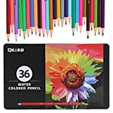 Zwbfu Juego De Lápices De Colores,120/150/180/210 Set de lápices de acuarela para artistas profesionales lápices de colores solubles en agua