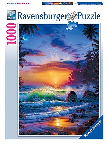 Ravensburger - 15650 4 - Puzzle - Island Sunrise - 1000 Pièces
