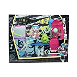 Mattel Monster High Frankie Stein Playset vestuario, Multicolor, mt-dxy09  , color/modelo...