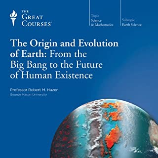 The Origin and Evolution of Earth audiobook cover art
