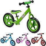 Vélo draisienne en métal boppi pour développer l'équilibre de 2 à 5 Ans - Vert