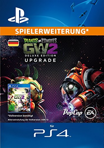 Plants vs. Zombies Garden Warfare 2: Deluxe Upgrade DLC [PS4 PSN Code - deutsches Konto]