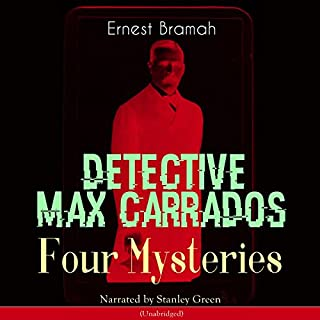 Detective Max Carrados audiobook cover art