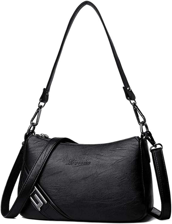 JQSM Hot Leather Luxury Handbags Women Bags Designer Handbags Sbody Bags for Women Shoulder Messenger Bag