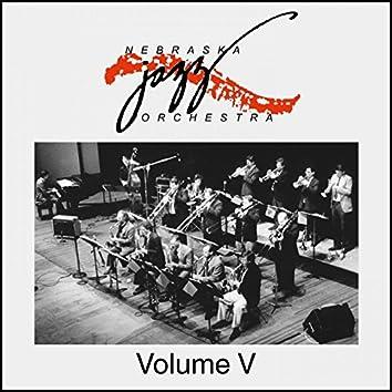 Nebraska Jazz Orchestra Volume V