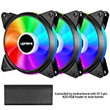 Best PWM Fans - upHere 5V 3-Pack 120mm Silent PWM Intelligent Control Review