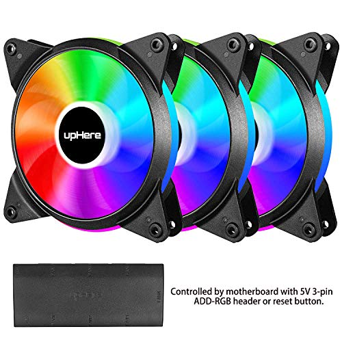 upHere T7SYC7 120 mm Fans 3-Pack