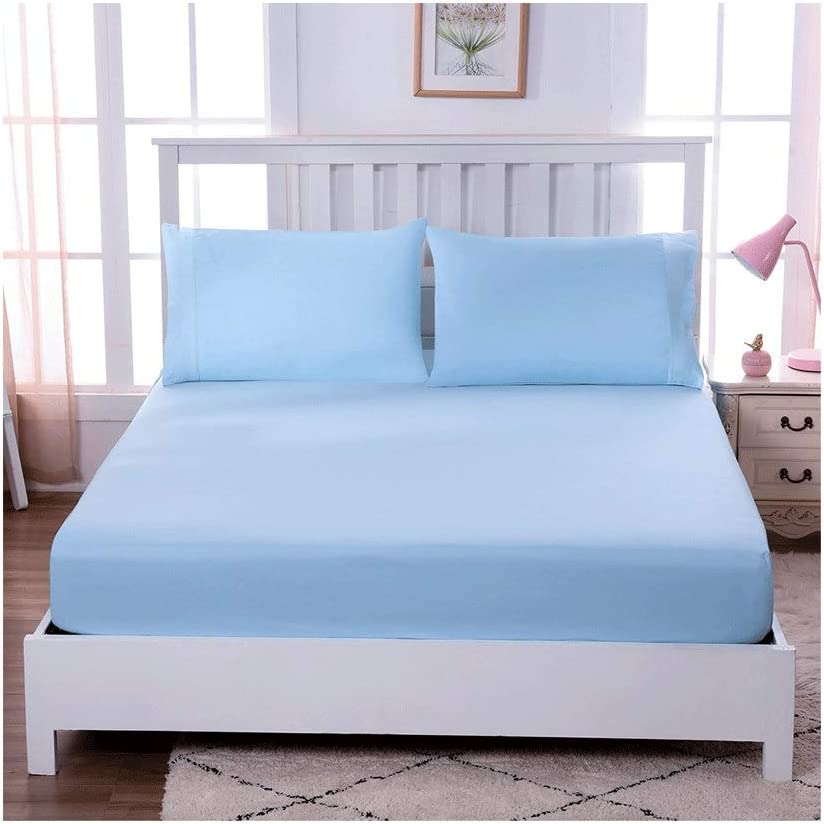 MZP Soft Baltimore Mall 100% At the price of surprise Egyptian Cotton Fitted Sheets 30cm De Extra Bottom
