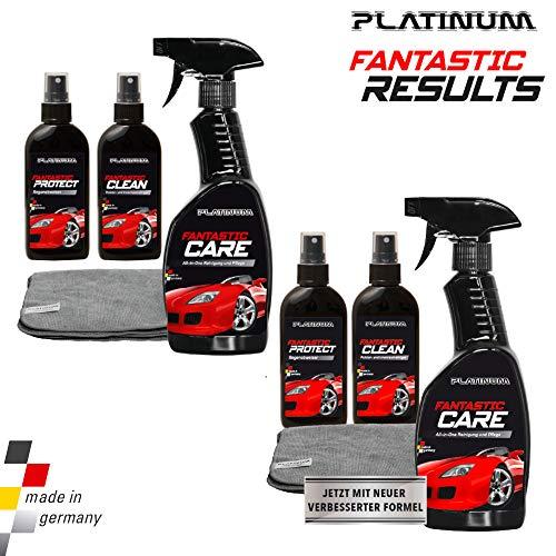 Platinum Fantastic Results - Autopflege-Set inkl. Microfasertuch - Doppelpack | Das Original aus dem TV von MediaShop