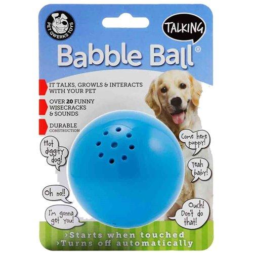 Pet Qwerks Talking Babble Ball Medium