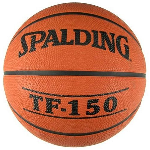 New Balls Basketballs Rubber Basketballs Miscellaneous - Spalding Tf150 Official Rubber Basketball