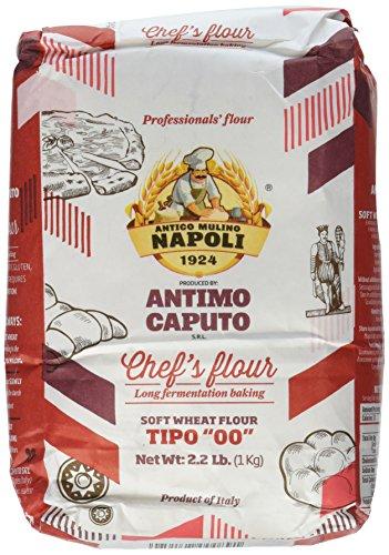 Antimo Caputo Chef's Flour 2.2 LB - Italian Double Zero 00 - Soft Wheat for Pizza Dough, Bread, & Pasta