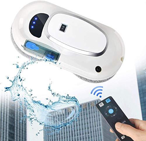 wsbdking Lavavetri Robot con Acqua A Spruzzo Automatica, Vacuum System Adsorbimento, per Tabella di Alta Vetrate Magnetica Automatica, Esterna Coperta, con Telecomando