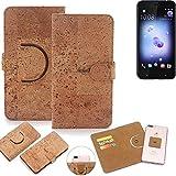 K-S-Trade 360° Cover cork Case for HTC U11 Dual-SIM |