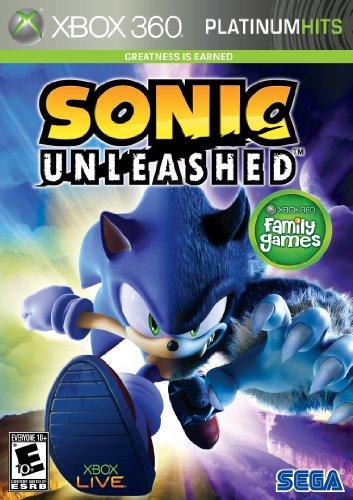 Sonic Unleashed Platinum Hits  Xbox 360