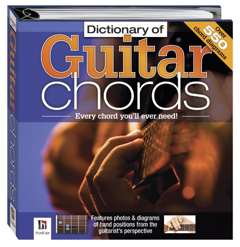 Dictionary of Guitar Chords (Small Binder Series)
