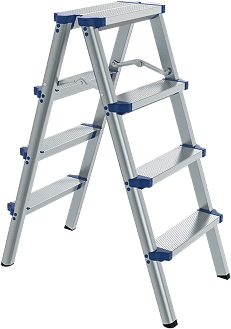 ZRN Translated Multi-Purpose Ladder Stool Folding Aluminum Stepladder Alloy It is very popular