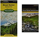 Best Easy Day Hiking Guide and Trail Map Bundle: Mount Rainier National Park (Best Easy Day Hikes)